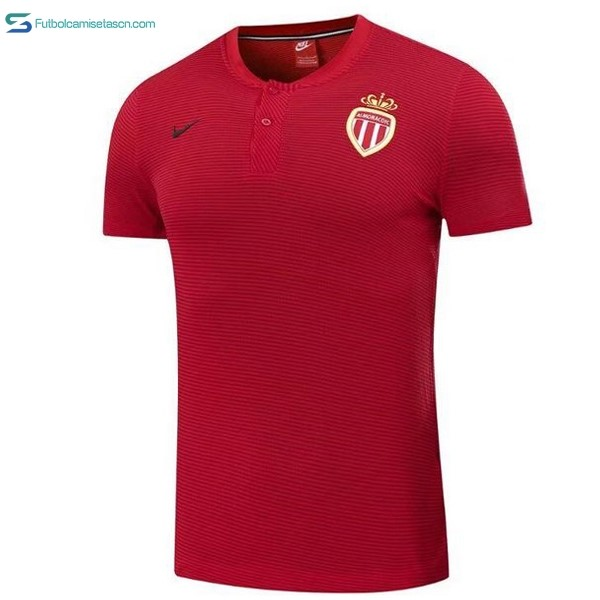 Polo AS Monaco 2017/18 Rojo