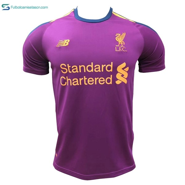 Camiseta Liverpool 3ª 2018/19 Purpura