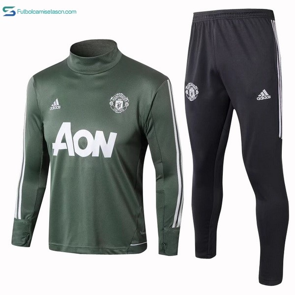 Chandal Manchester United 2017/18 Verde Blanco