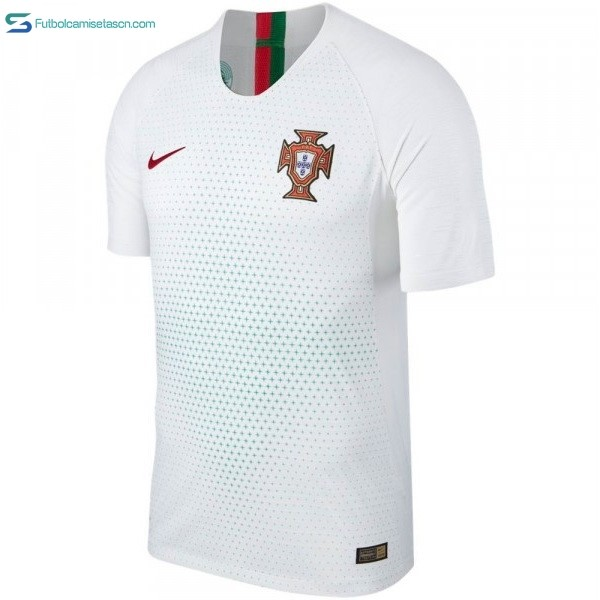 Camiseta Portugal 2ª 2018 Blanco
