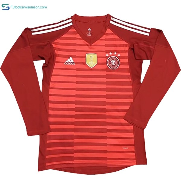 Camiseta Alemania ML Portero 2018 Rojo