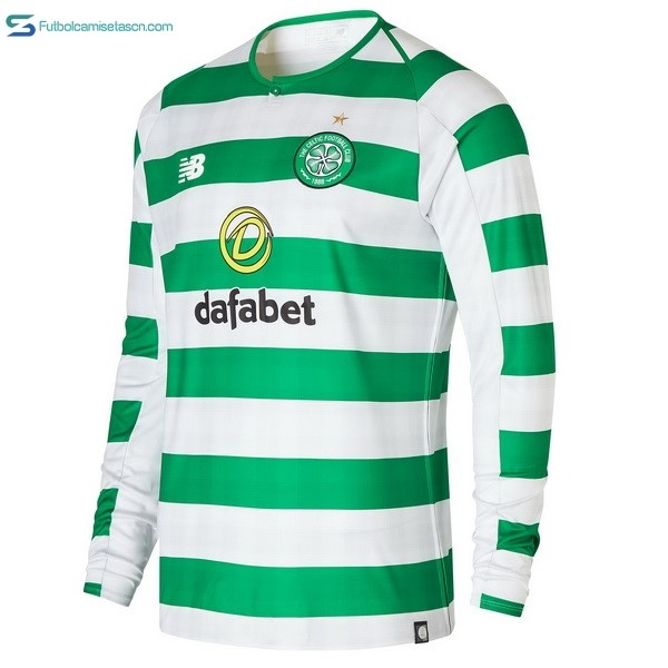 Camiseta Celtic 1ª ML 2018/19 Verde