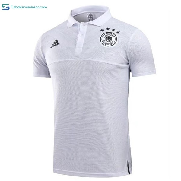 Polo Alemania 2018 Blanco