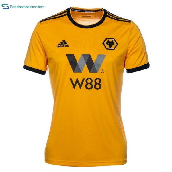 Camiseta Wolves 1ª 2018/19 Amarillo