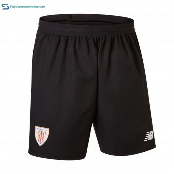 Pantalones Athletic Bilbao 1ª 2018/19 Negro