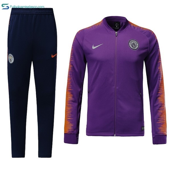 Chandal Manchester City 2018/19 Purpura