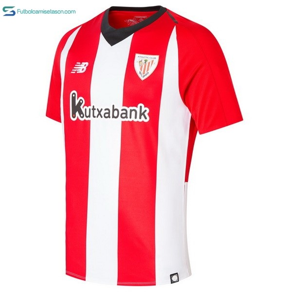 Camiseta Athletic Bilbao 1ª 2018/19 Rojo Blanco