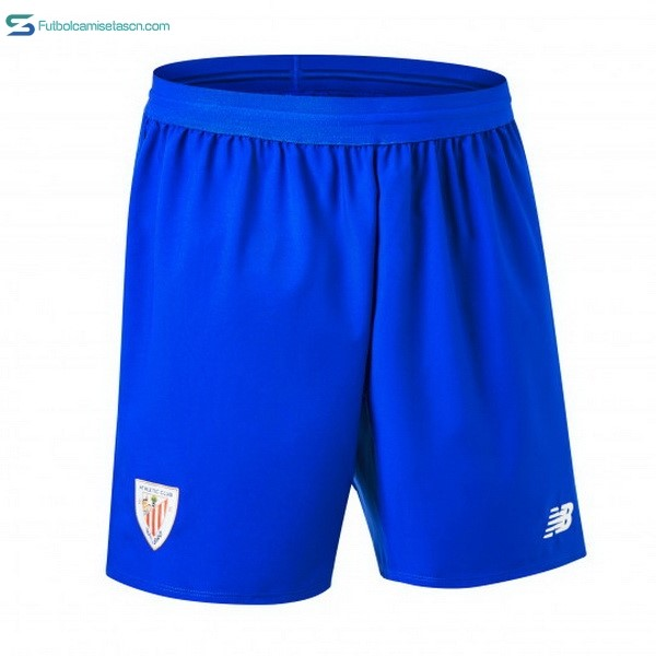 Pantalones Athletic Bilbao 2ª 2018/19 Azul