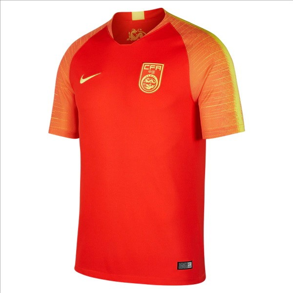 Camiseta China 1ª 2018 Rojo