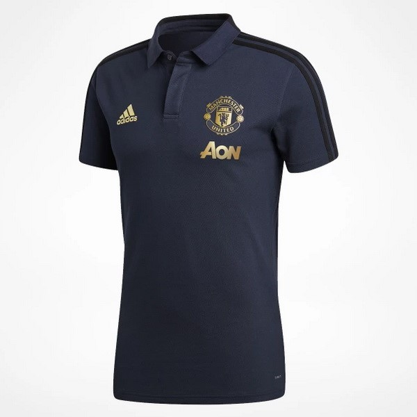Polo Manchester United 2018/19 Azul
