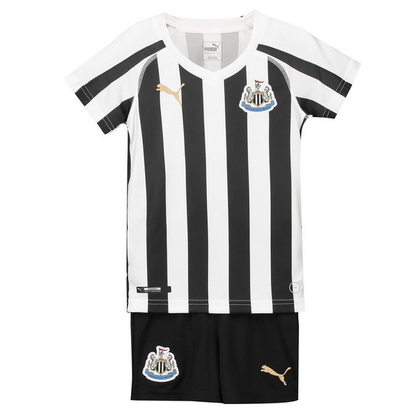 Camiseta Newcastle United 1ª Niños 2018/19 Blanco Negro