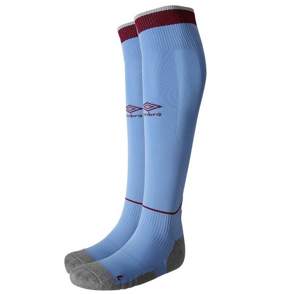 Calcetines West Ham United 3ª 2018/19 Azul