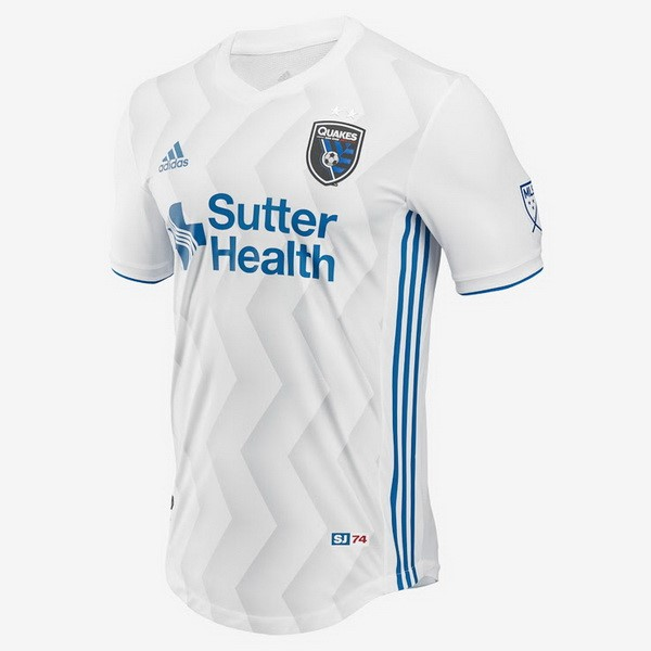 Camiseta San Jose Earthquakes 2ª 2018/19 Blanco