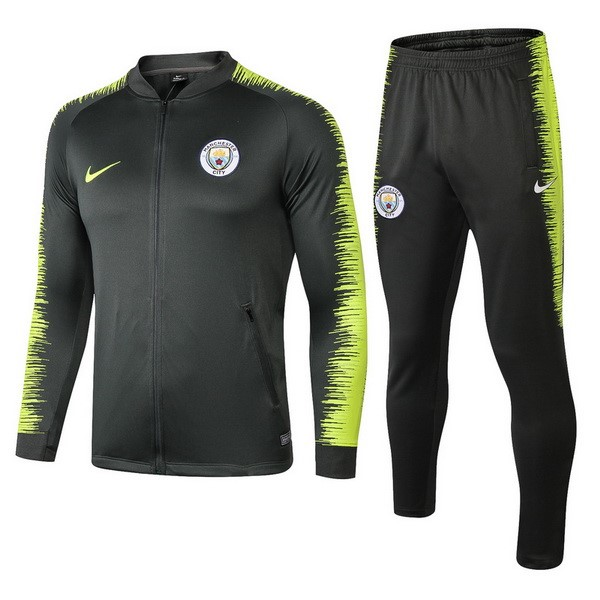 Chandal Manchester City 2018/19 Verde Amarillo