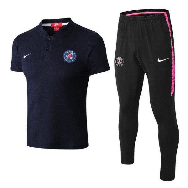 Polo Paris Saint Germain Conjunto Completo 2018/19 Azul