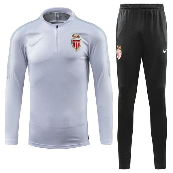 Chandal AS Monaco 2018/19 Blanco