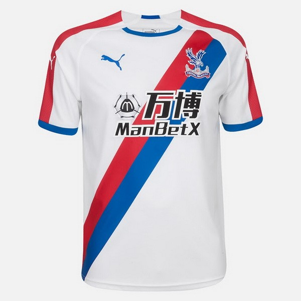 Camiseta Crystal Palace 2ª 2018/19 Blanco