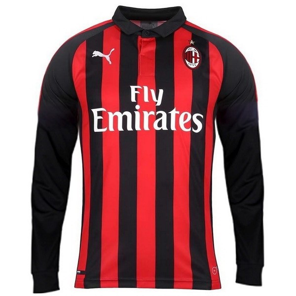 Camiseta Milan 1ª ML 2018/19 Rojo
