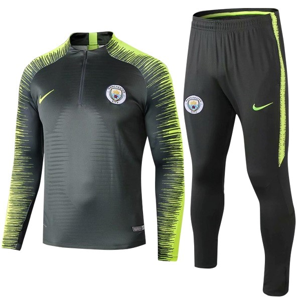 Chandal Manchester City 2018/19 Verde Fluorescente