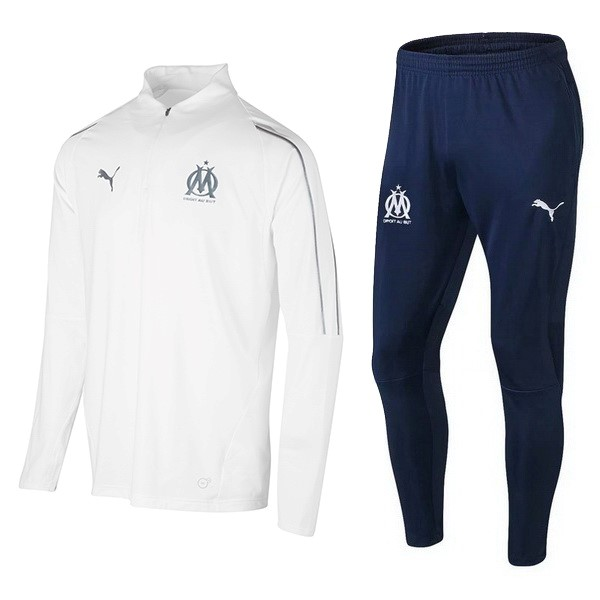 Chandal Olympique De Marsella 2018/19 Blanco Azul
