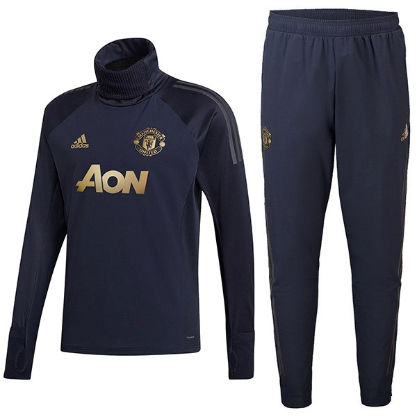 Chandal Manchester United 2018/19 Azul Oro