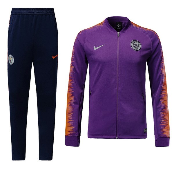 Chandal Niños Manchester City 2018/19 Purpura
