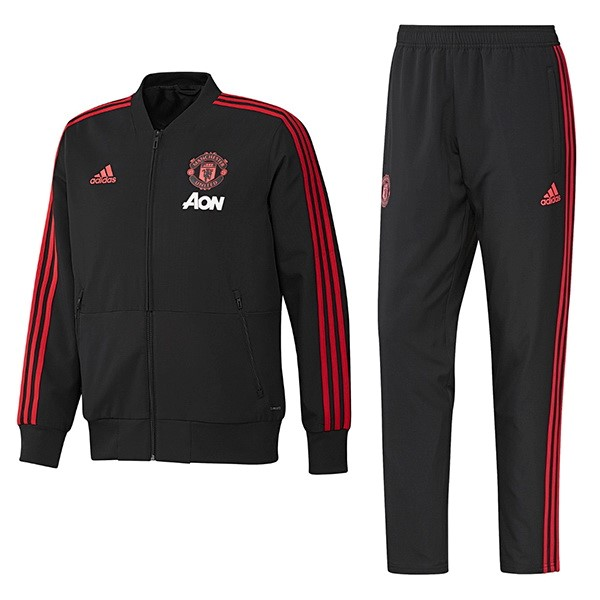 Chandal Manchester United 2018/19 Negro Rojo