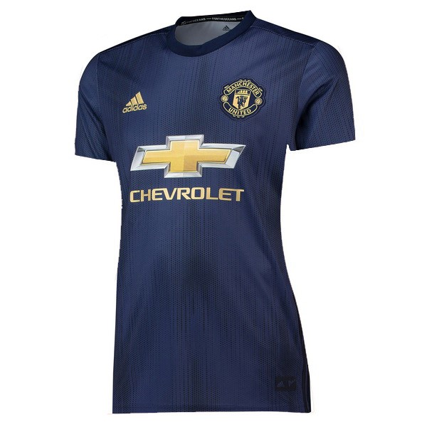Camiseta Manchester United 3ª Mujer 2018/19 Azul