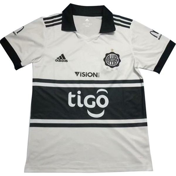 Camiseta Club Olimpia 1ª 2018/19 Blanco