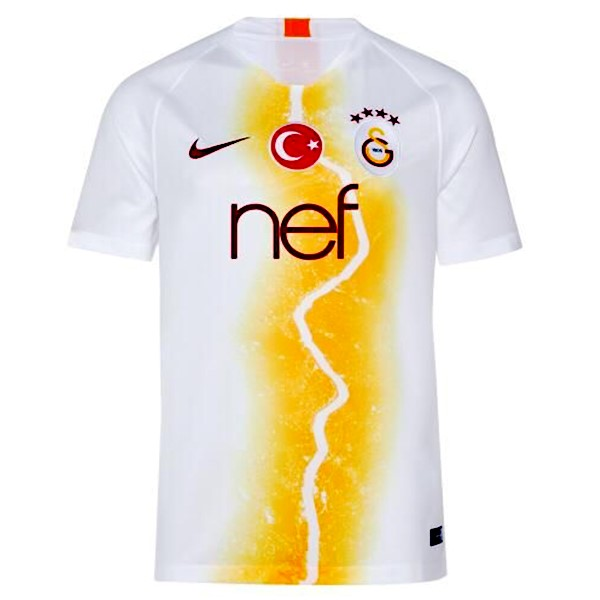Camiseta Galatasaray 3ª 2018/19 Blanco