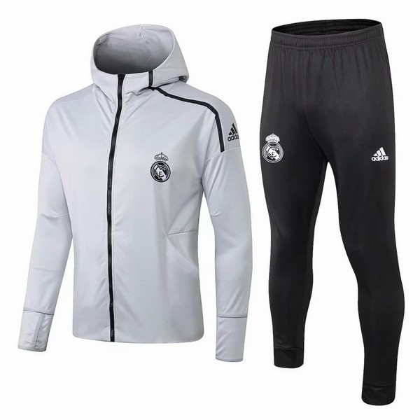Chandal Real Madrid 2018/19 Gris Negro