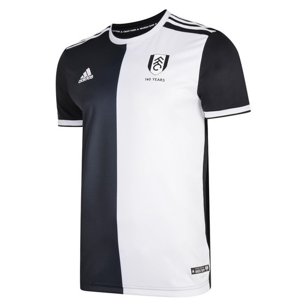 Camiseta Fulham 140th Negro Blanco