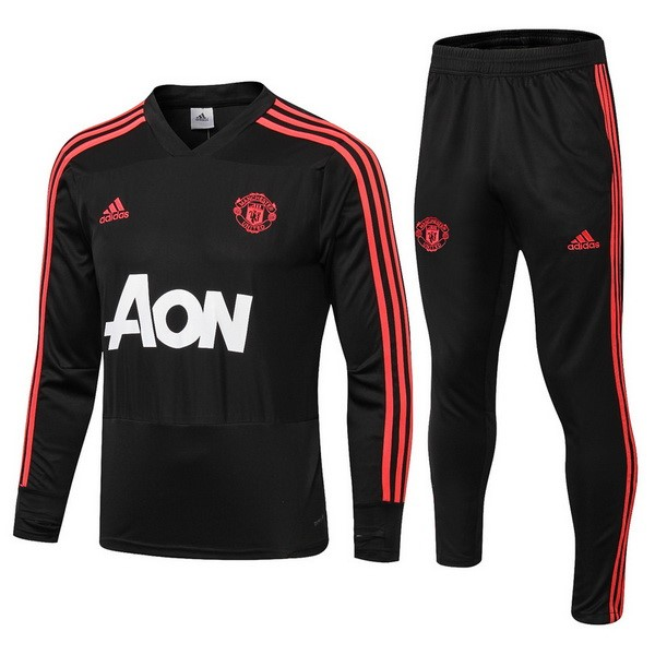 Chandal Manchester United 2018/19 Rojo Negro Blanco