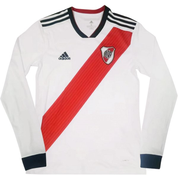 Camiseta River Plate 1ª ML 2018/19 Blanco