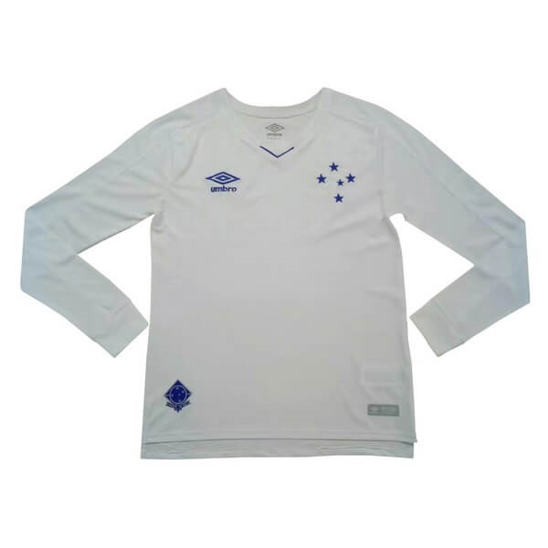 Camiseta Cruzeiro 2ª ML 2019/20 Blanco