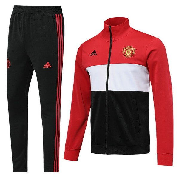 Chandal Manchester United 2019/20 Rojo Blanco Negro