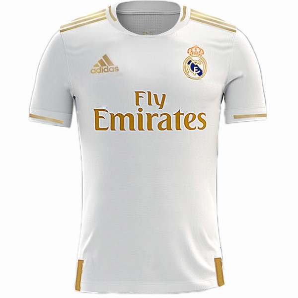 Tailandia Camiseta Real Madrid 1ª 2019/20 Blanco