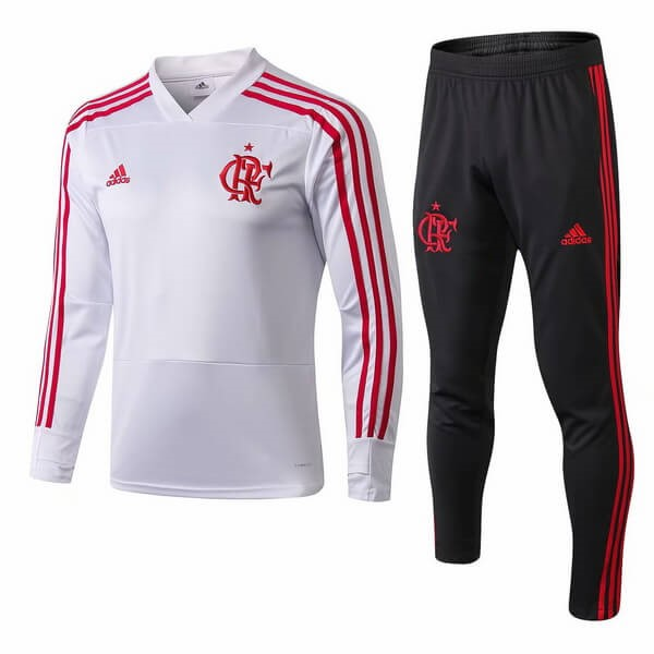 Chandal Flamengo 2018/19 Blanco Rojo