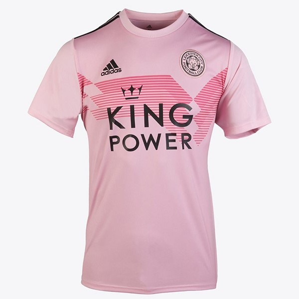 Camiseta Leicester City 2ª Mujer 2019/20 Rosa