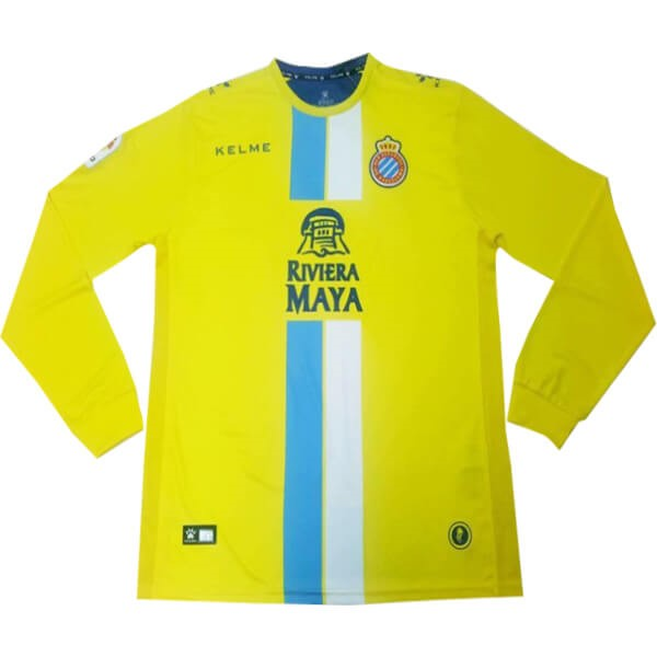 Camiseta Español 3ª ML 2018/19 Amarillo