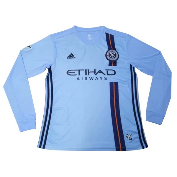 Camiseta New York City 1ª ML 2019/20 Azul
