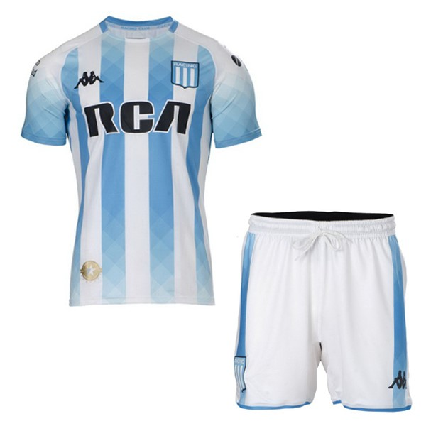 Camiseta Racing Club 1ª Niño 2019/20 Blanco