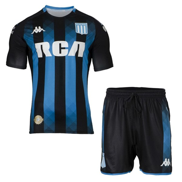 Camiseta Racing Club 2ª Niño 2019/20 Negro