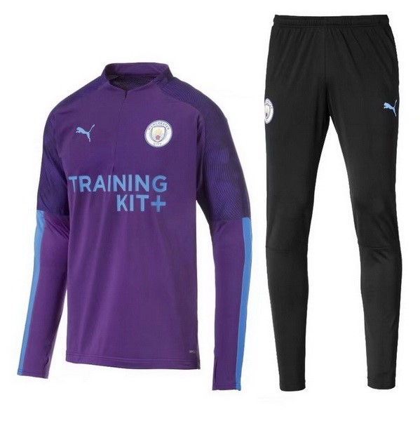 Chandal Manchester City 2019/20 Negro Purpura