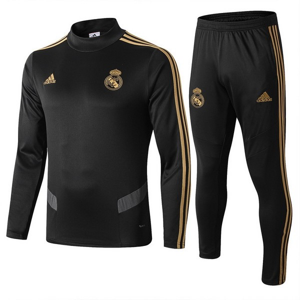 Chandal Real Madrid 2019/20 Negro Gris