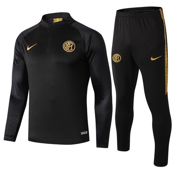 Chandal Inter 2019/20 Negro Amarillo