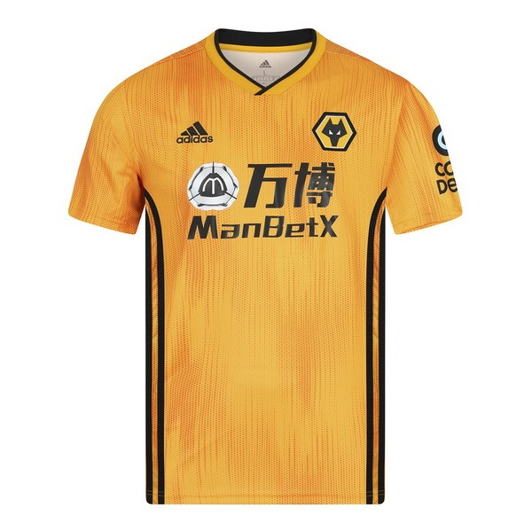 Camiseta Wolves 1ª 2019/20 Amarillo