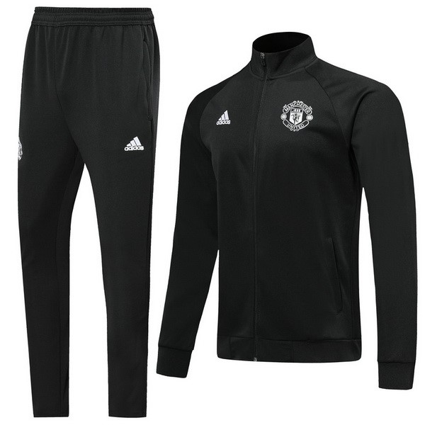 Chandal Manchester United 2019/20 Negro Blanco