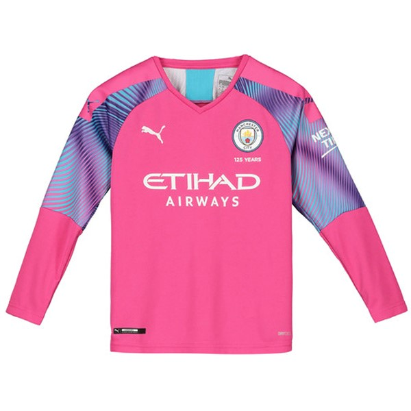 Camiseta Manchester City ML Portero 2019/20 Rosa