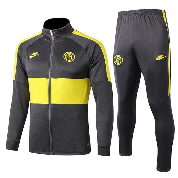 Replicas Chandal Inter Milan 2019/20 Gris Amarillo